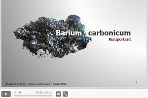 Video zu Barium carbonicum  auf YouTube